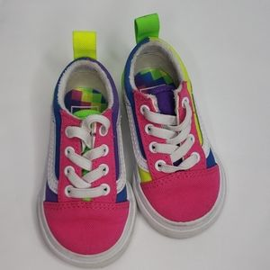 Vans  Multi colored Toddler Shoes